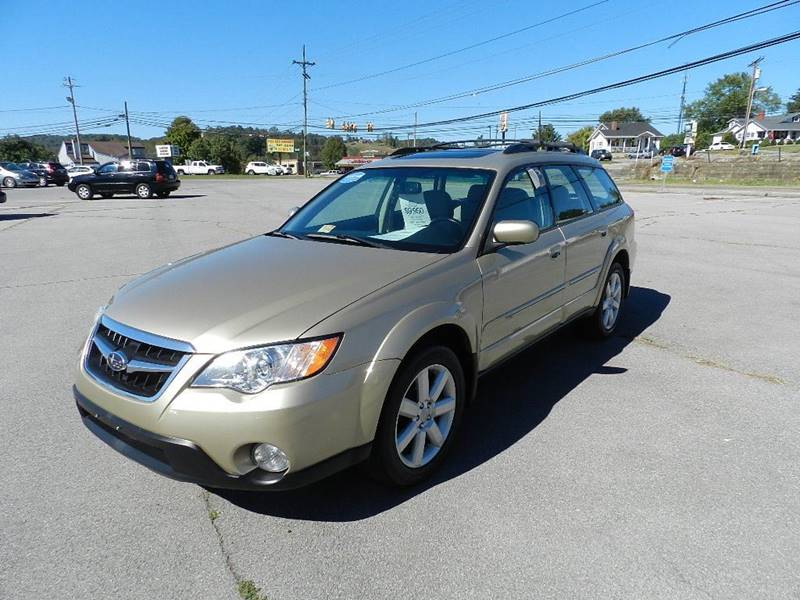 2008 SUBARU OUTBACK 25I LIMITED AWD 4DR WAGON 4A beige mudguards - front door handle color - bo