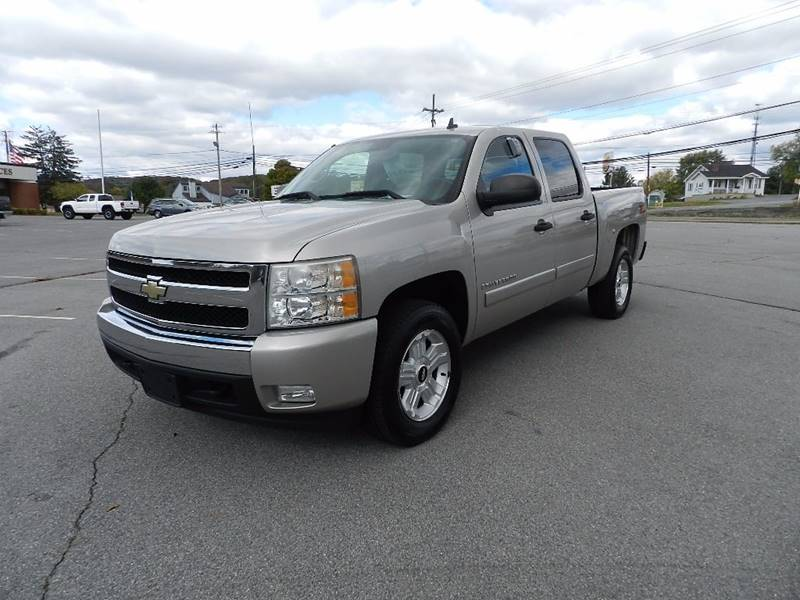 2007 CHEVROLET SILVERADO 1500 LT2 4DR CREW CAB 58 FT SB gray pickup bed light pickup bed type