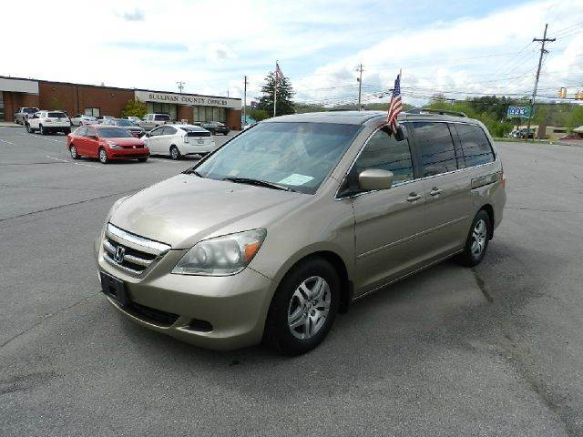 2005 HONDA ODYSSEY EX-L WDVD 4DR MINIVAN WLEATHER gold you wont find any electrical problems wi
