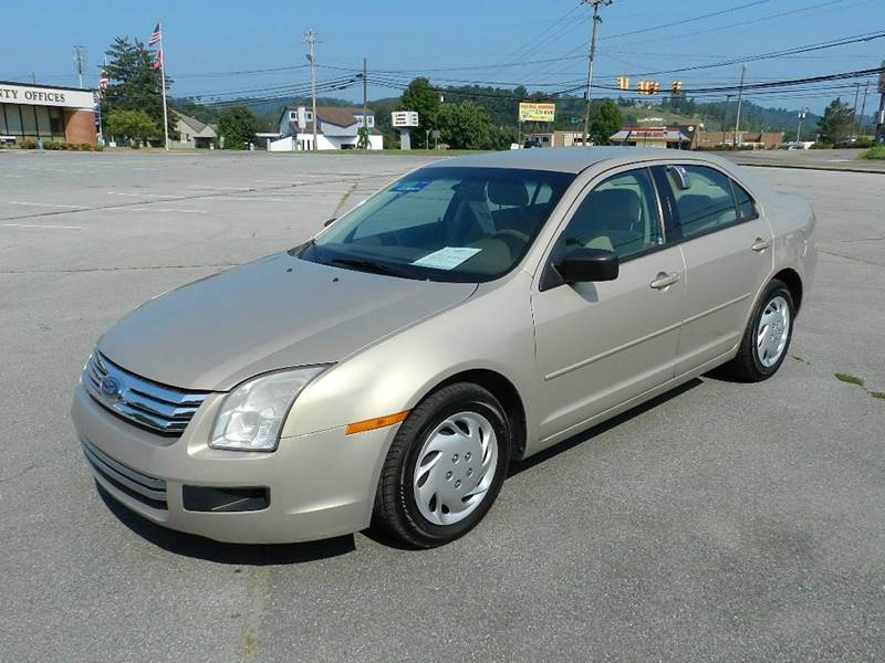2007 FORD FUSION I-4 S 4DR SEDAN beige you wont find any electrical problems with this vehicle