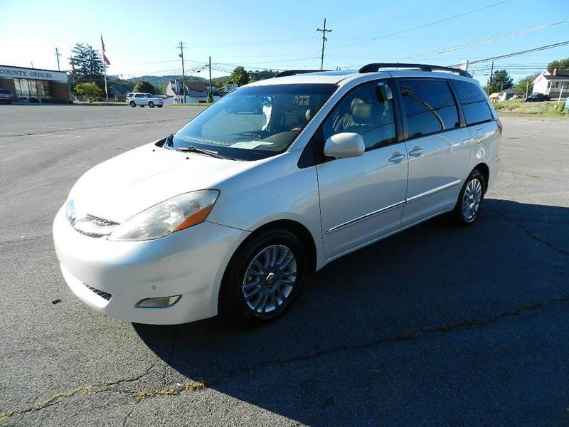 2007 TOYOTA SIENNA XLE LIMITED 7-PASSENGER 4DR MINI white the electronic components on this vehicl