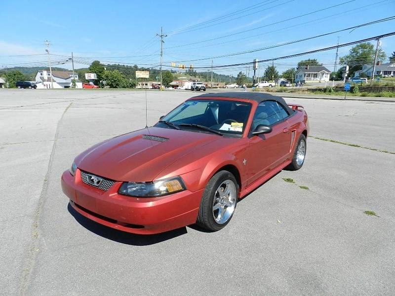 2001 FORD MUSTANG BASE DELUXE 2DR CONVERTIBLE maroon all power equipment is functioning properly