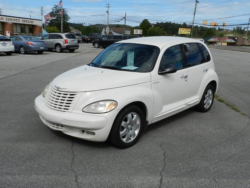 2003 CHRYSLER PT CRUISER TOURING EDITION 4DR WAGON white you wont find any electrical problems wi