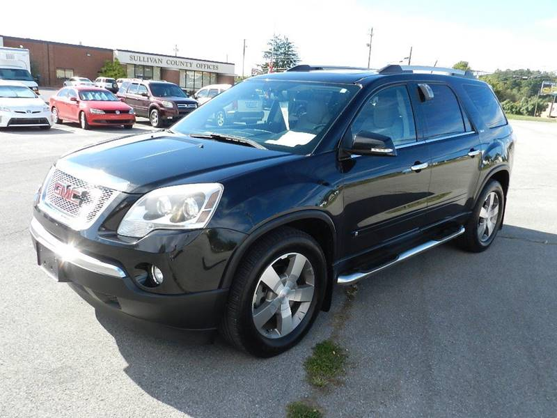 2010 GMC ACADIA SLT-1 black the front windshield is in excellent condition  the paint is in grea