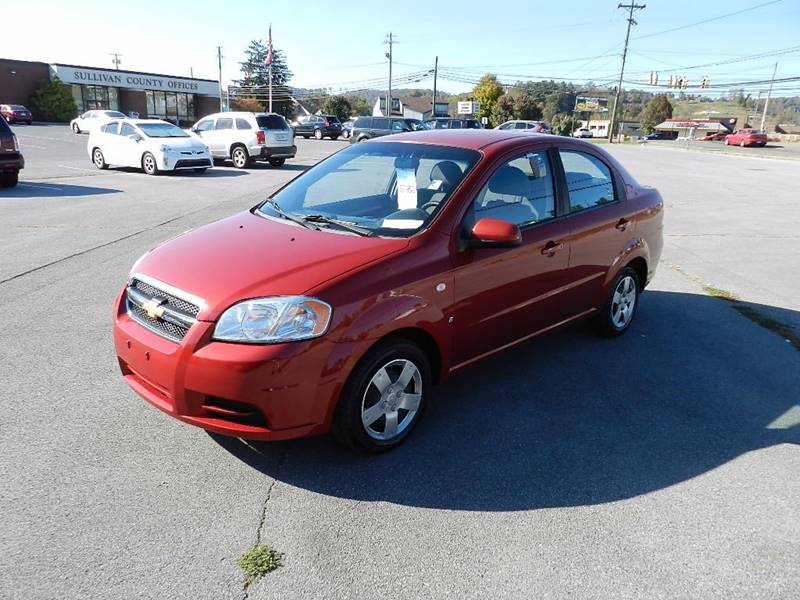 2008 CHEVROLET AVEO LS red the front windshield is in excellent condition  the paint is in great