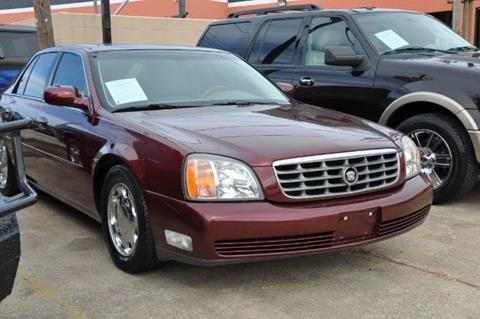 2000 Cadillac DeVille for sale in Houston, TX