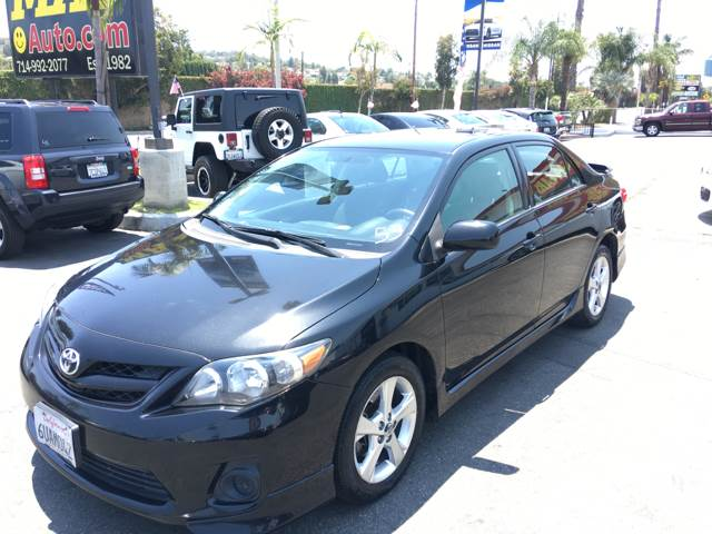 2011 Toyota Corolla S 4dr Sedan 4A - La Habra CA