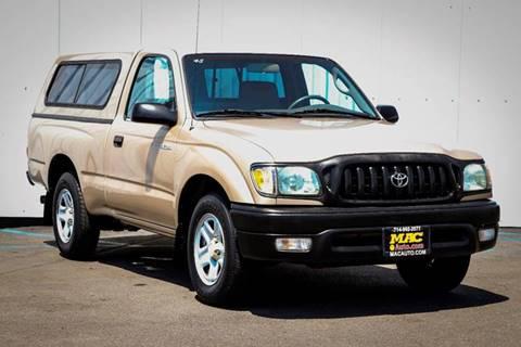 2002 Toyota Tacoma for sale at Mac Auto Inc in La Habra CA