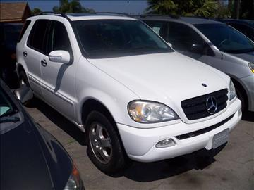 2002 Mercedes-Benz M-Class for sale in San Diego, CA