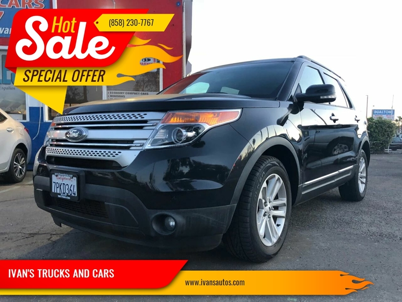 2013 Ford Explorer Xlt 4dr Suv In San Diego Ca Ivan S