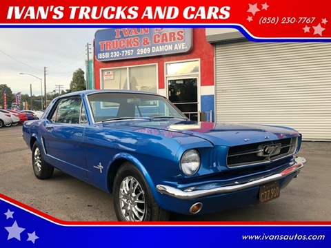 Used 1965 Ford Mustang For Sale In California