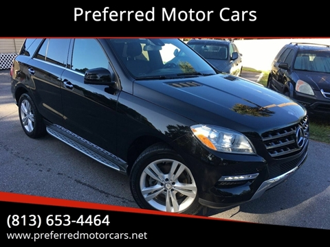 2015 Mercedes-Benz M-Class for sale in Seffner, FL
