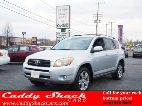 2007 Toyota RAV4 for sale at CADDY SHACK CARS in Edgewater MD