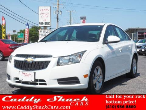 2013 Chevrolet Cruze for sale at CADDY SHACK CARS in Edgewater MD
