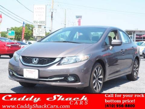2015 Honda Civic for sale at CADDY SHACK CARS in Edgewater MD