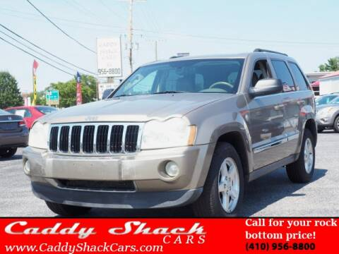 2006 Jeep Grand Cherokee for sale at CADDY SHACK CARS in Edgewater MD