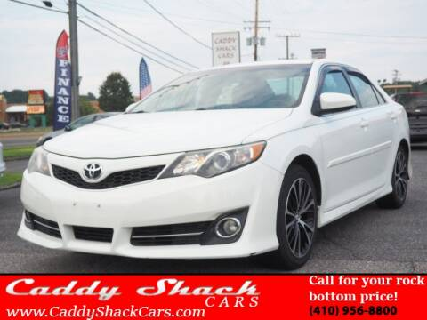 2014 Toyota Camry for sale at CADDY SHACK CARS in Edgewater MD
