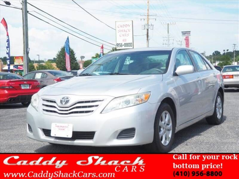 2011 Toyota Camry for sale at CADDY SHACK CARS in Edgewater MD