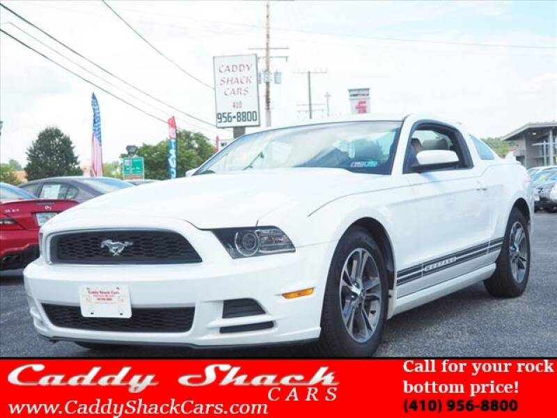 2014 Ford Mustang for sale at CADDY SHACK CARS in Edgewater MD
