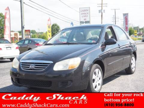 2007 Kia Spectra for sale at CADDY SHACK CARS in Edgewater MD