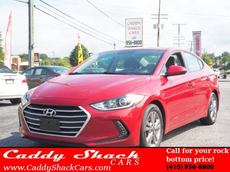 2017 Hyundai Elantra for sale at CADDY SHACK CARS in Edgewater MD