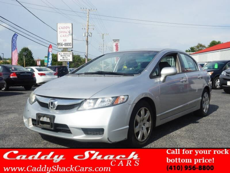 2009 Honda Civic for sale at CADDY SHACK CARS in Edgewater MD