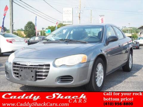 2006 Chrysler Sebring for sale at CADDY SHACK CARS in Edgewater MD