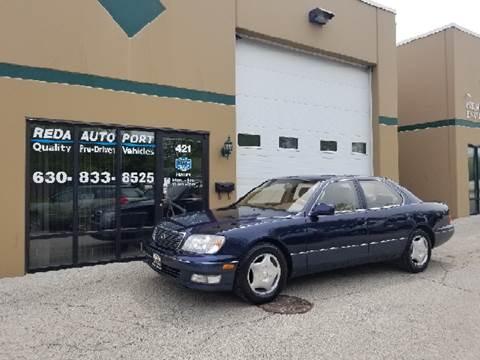 2000 Lexus LS 400 for sale at REDA AUTO PORT INC in Villa Park IL