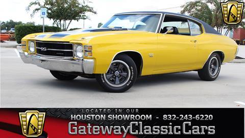 1971 Chevrolet Chevelle for sale in Houston, TX
