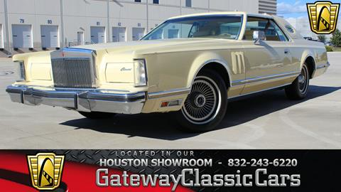 1978 Lincoln Mark VIII for sale in Houston, TX