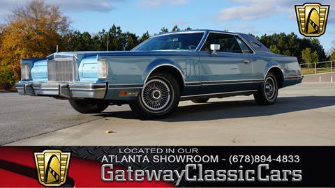 1978 Lincoln Mark VIII for sale in Alpharetta, GA