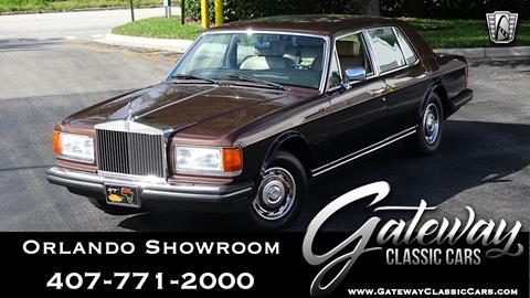 1985 Rolls-Royce Silver Spirit for sale in Lake Mary, FL