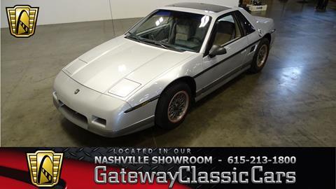 1985 Pontiac Fiero for sale in O Fallon, IL