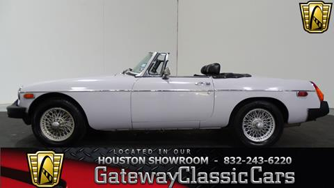 1974 MG MGB for sale in Houston, TX