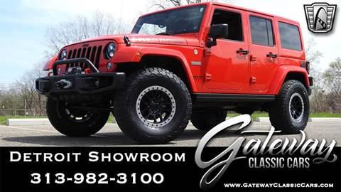 2016 Jeep Wrangler Unlimited for sale in O Fallon, IL