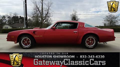 1976 Pontiac Trans Am for sale in Houston, TX