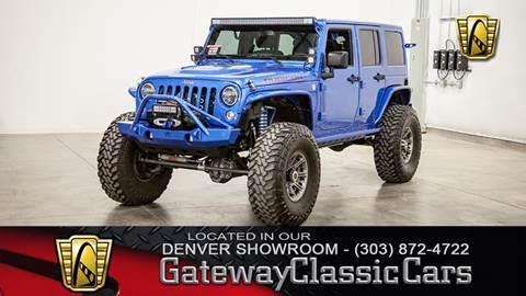 2015 Jeep Wrangler Unlimited for sale in O Fallon, IL