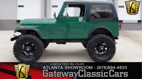1985 Jeep CJ-7 for sale in Alpharetta, GA