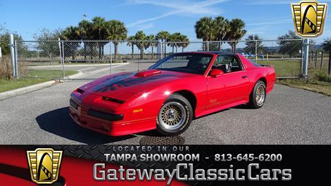 1990 Pontiac Firebird for sale in Ruskin, FL