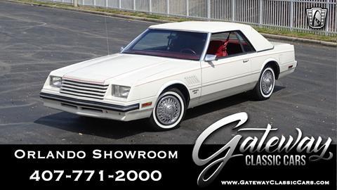 1983 Dodge Mirada for sale in Lake Mary, FL