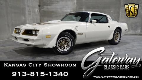 1978 Pontiac Trans Am for sale in Olathe, KS