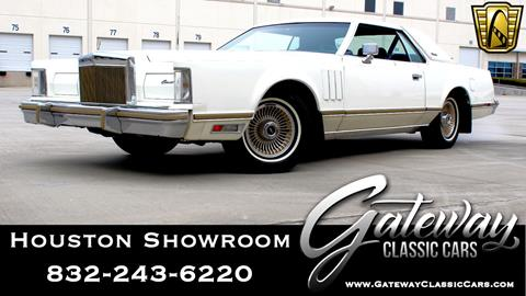 1979 Lincoln Mark VIII for sale in Houston, TX