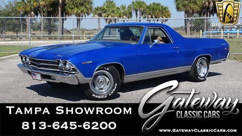Chevrolet El Paso >> 1969 Chevrolet El Camino For Sale In Ruskin Fl