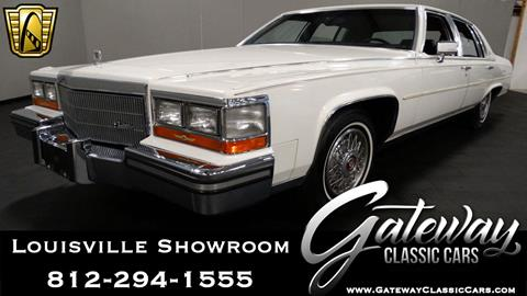 1986 Cadillac Fleetwood Brougham for sale in O Fallon, IL