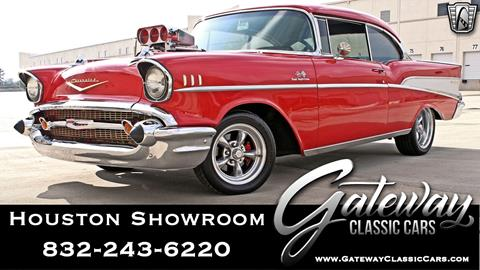 1957 Chevrolet Bel Air for sale in Houston, TX