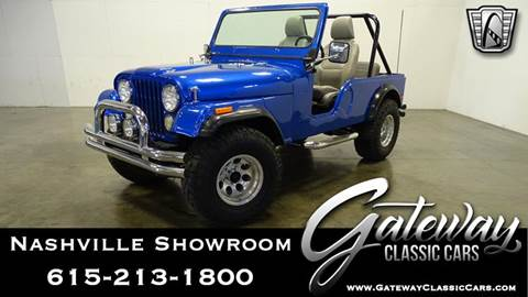 1974 Jeep CJ-7 for sale in O Fallon, IL