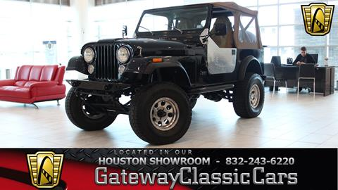 1982 Jeep CJ-7 for sale in Houston, TX