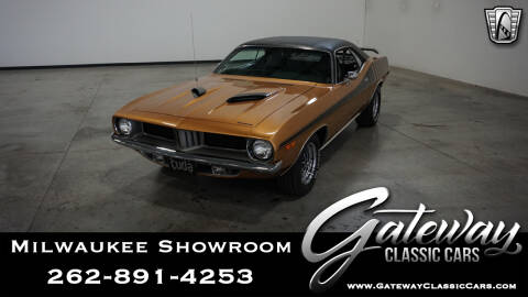 1972 Plymouth Barracuda for sale in Kenosha, WI