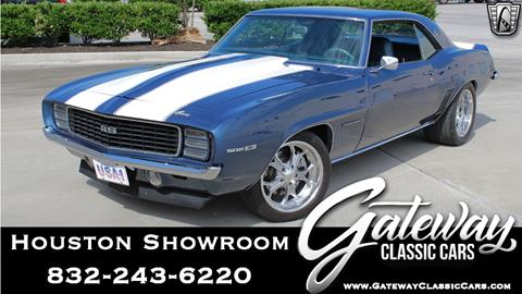 Used 1969 Chevrolet Camaro For Sale In Houston Tx