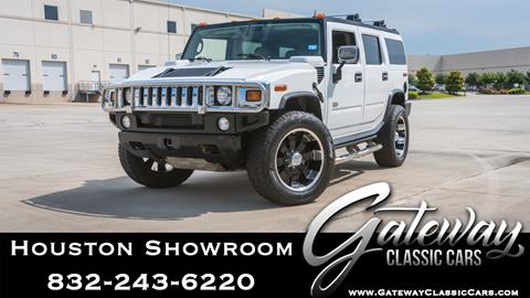 2004 HUMMER H2 for sale in Houston, TX